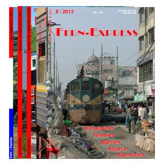 Fern-Express-Hefte auf Lager