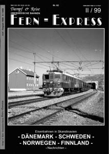 Titelblatt Fernexpress Heft II/1999