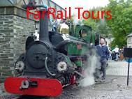 farrail - Reisen zu den interessantesten Bahnlinien und den letzten aktiven Dampflokomotiven der Welt!