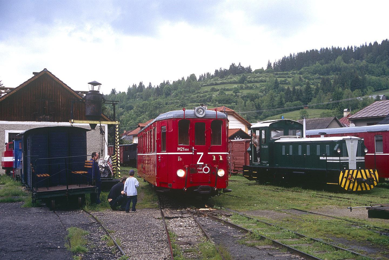 Die Museumwaldbahn Hronec