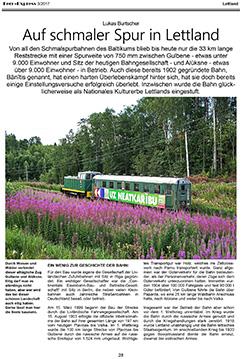 Fern-Express: Bericht Lettland als PDF