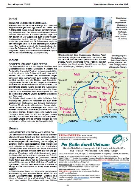 Nachrichten - Heft 2/2018 Fern-Express