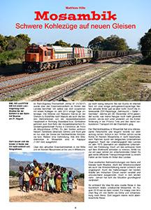 Fern-Express: Mosambik