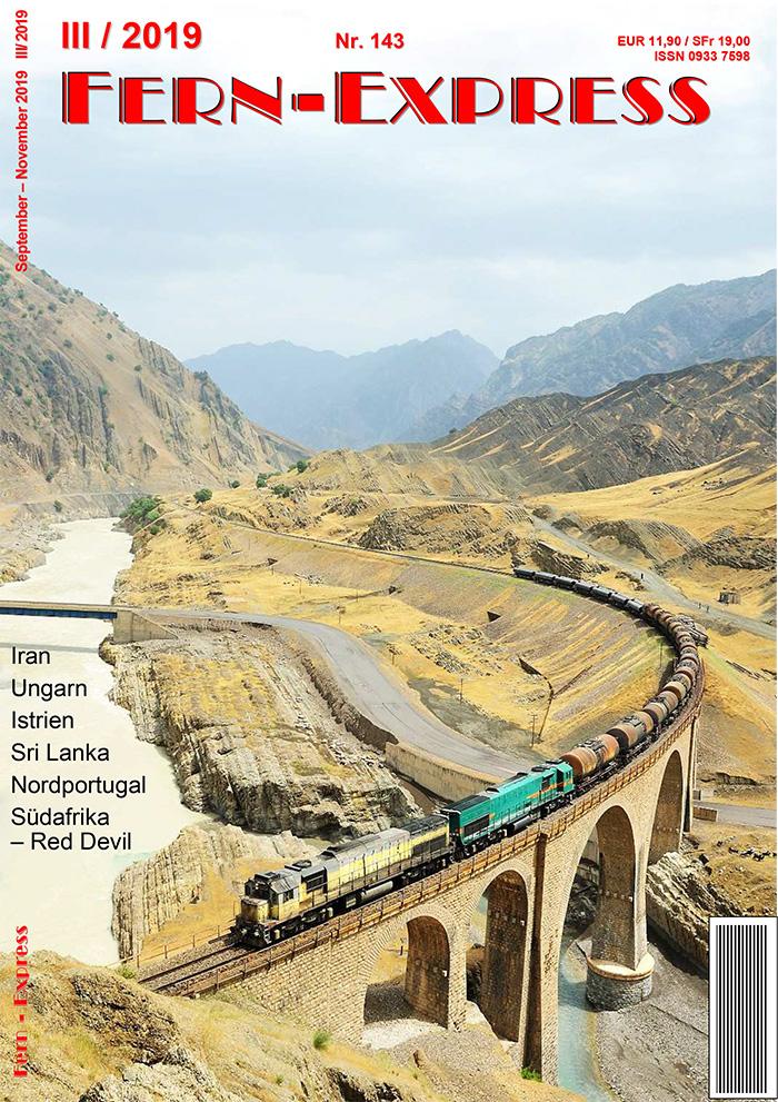 Fern-Express, Heft III/2019: Iran, Ungarn, Istrien, Sri Lanka, Portugal, Südafrika