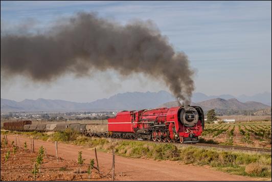 Eine Woche Dampf am Kap in Südafrika