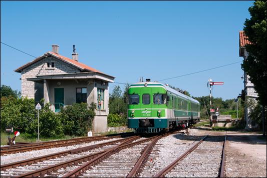 Streckenportrait Istrien: die einzige verbliebene Eisenbahnstrecke