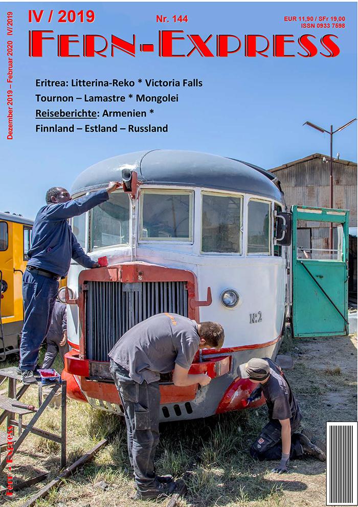 Titelseite Heft IV 2019 Fern-Express
