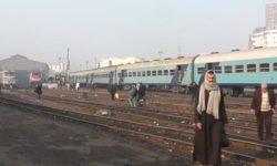 Eisenbahn in Kairo, Ägypten