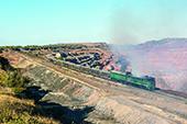 Dieselbetrieb in den Eisenerzminen von Kryvyi Rih