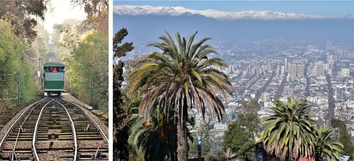 Eisenbahn in Chile und Argentinien