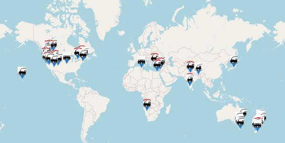 Museumsbahnen weltweit