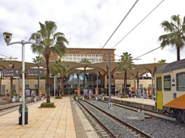 Auf dem Schienenweg von Deutschland nach Marokko
