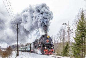 Dampfzüge um Sankt-Petersburg