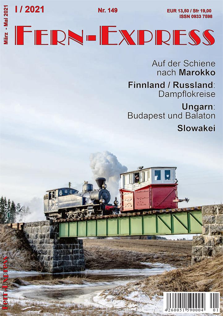 Titel Heft 1/2021 Fern-Express
