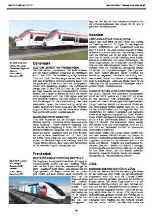 Fern-Express: Nachrichten rund um die Eisenbahn