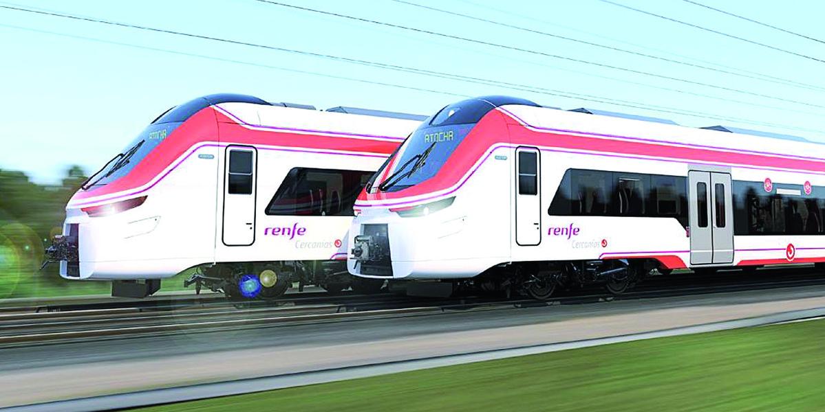 die neuen Cercanías-Züge von Alstom