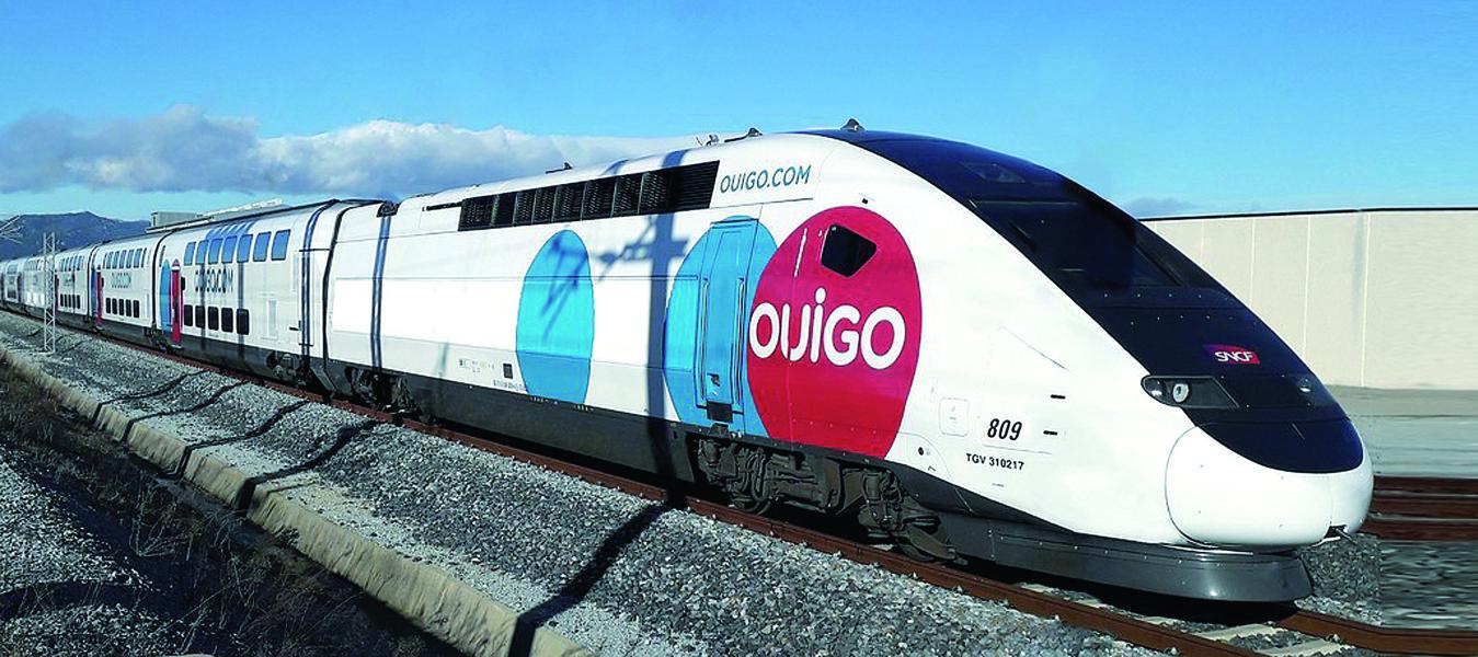 """Die SNCF erobert mit """"Ouigo"""" Spaniens HGVerkehr."""