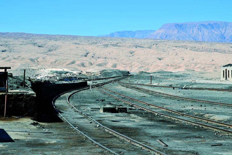Bahn Bolivien - Chile