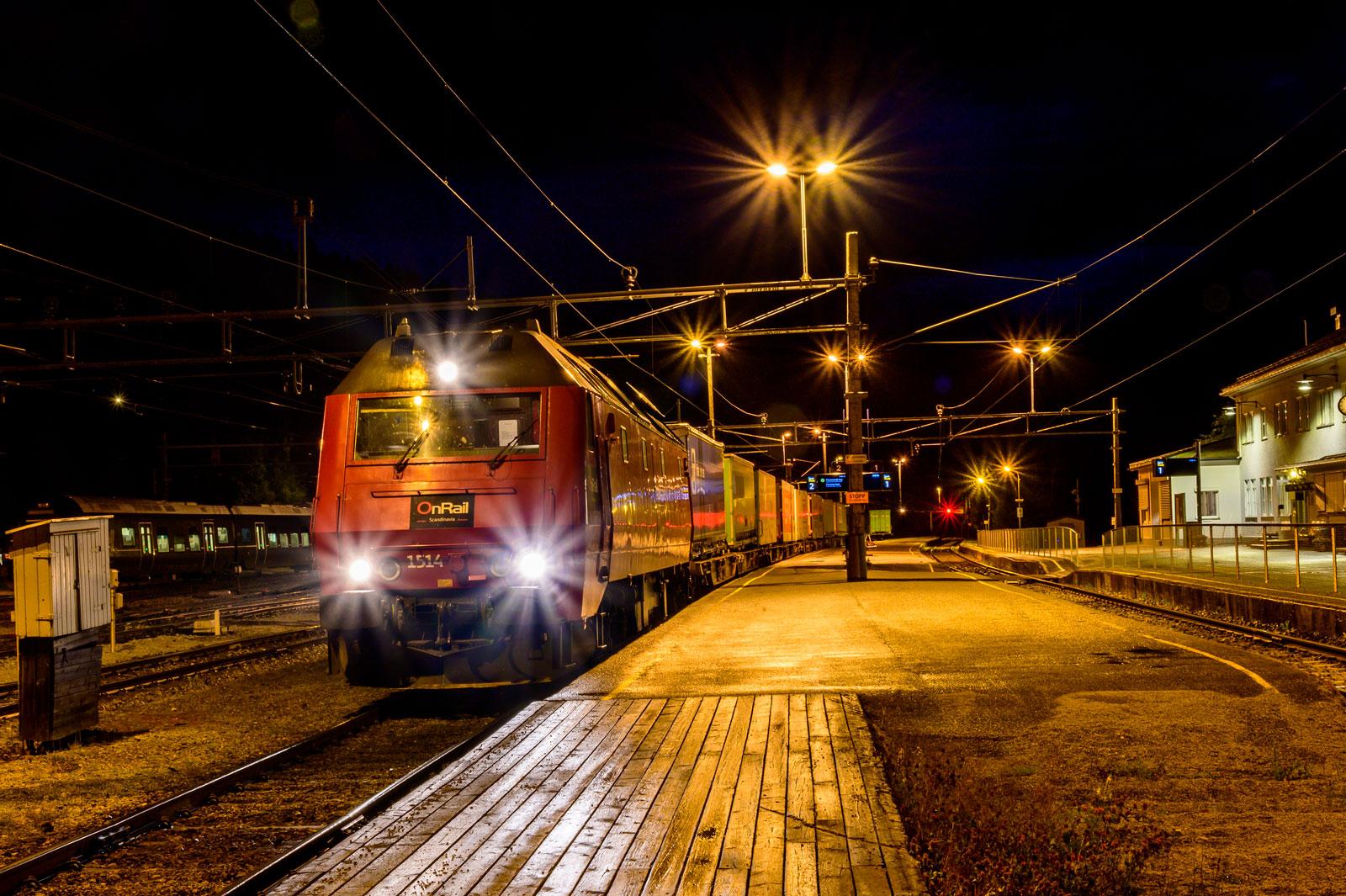 die Raumabahn in Norwegen